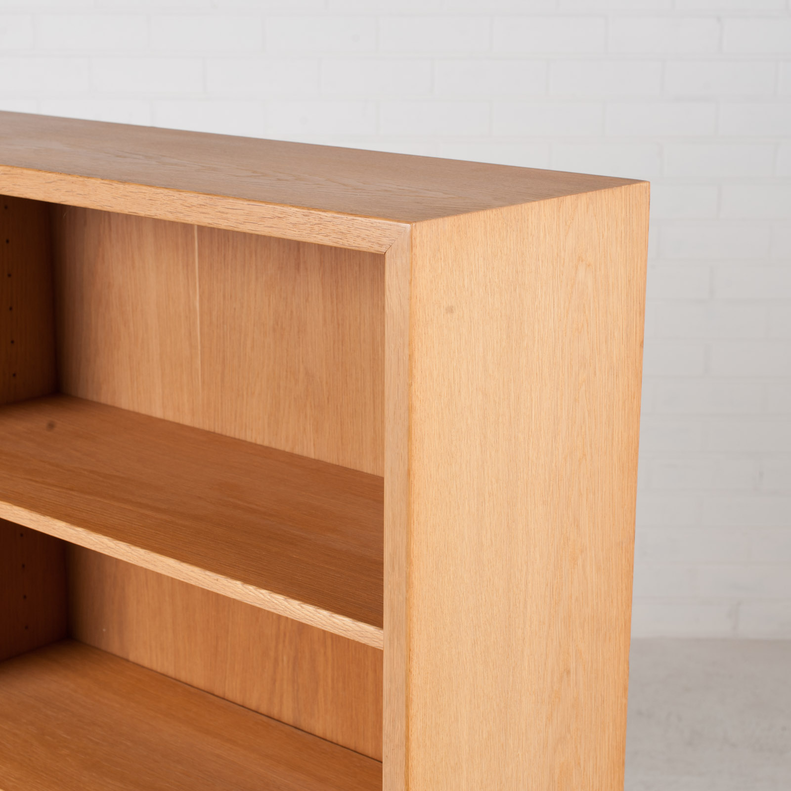 Bookcase By Borge Mogensen In Oak 1960s Denmark 08