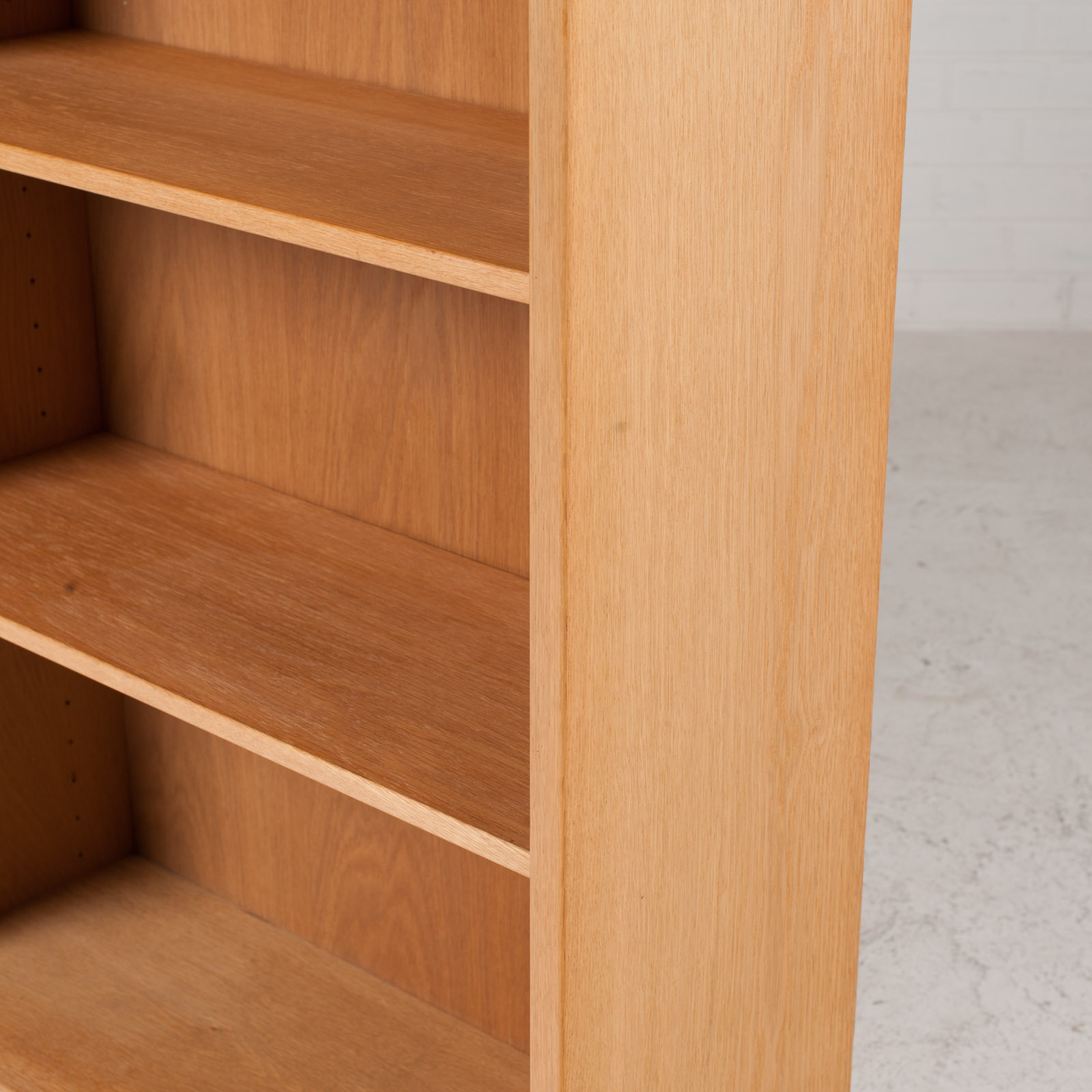 Bookcase By Borge Mogensen In Oak 1960s Denmark 09