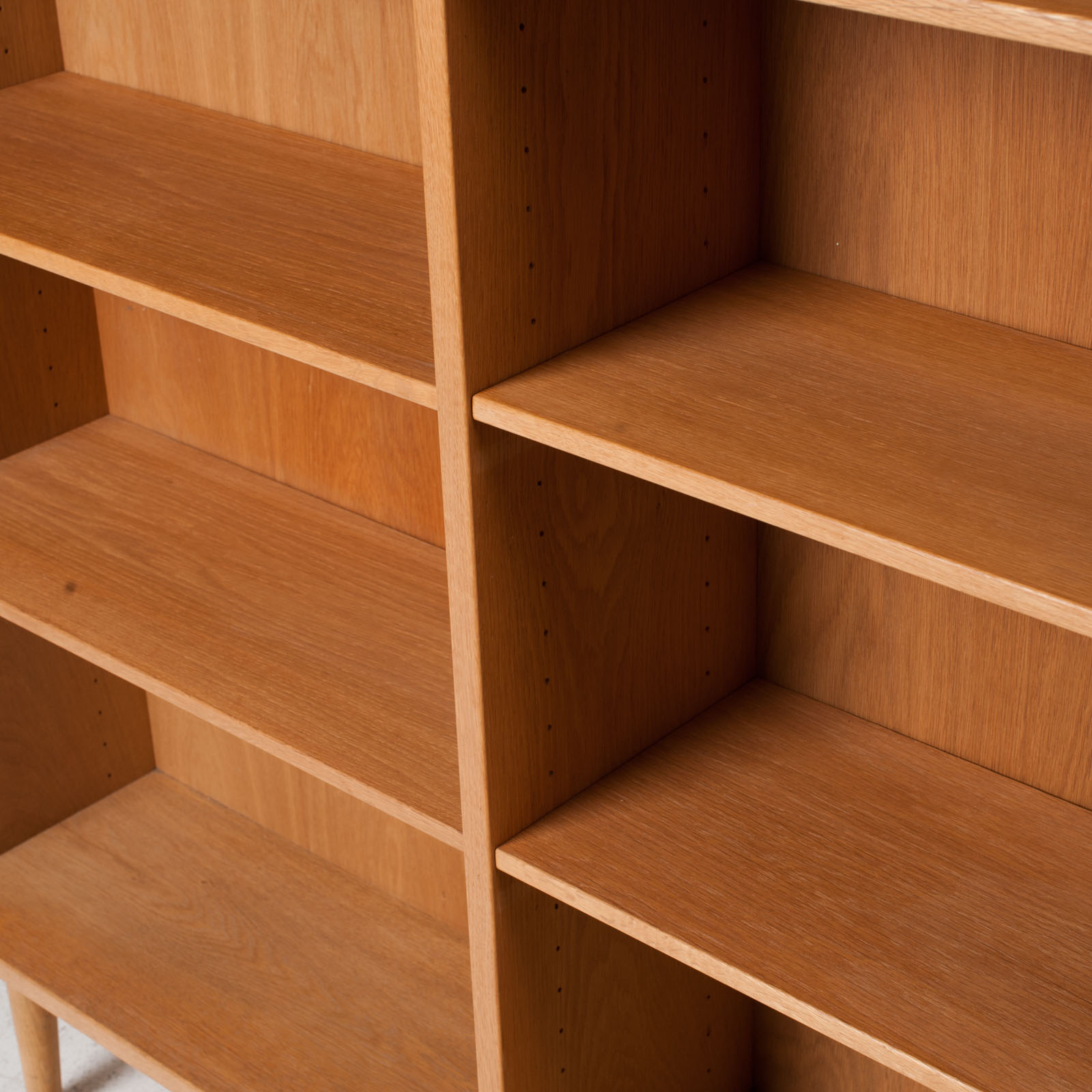 Bookcase By Borge Mogensen In Oak 1960s Denmark 10