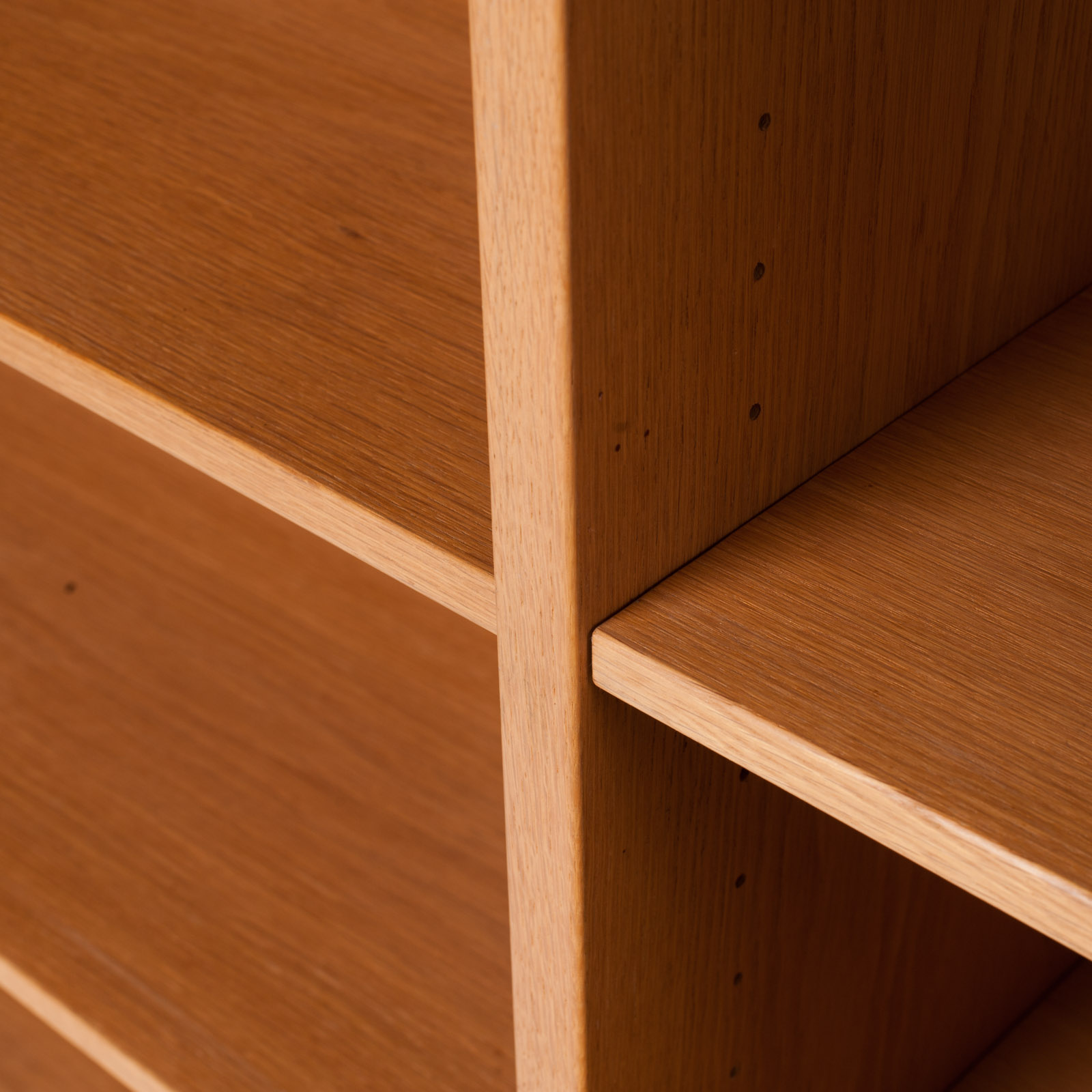 Bookcase By Borge Mogensen In Oak 1960s Denmark 14