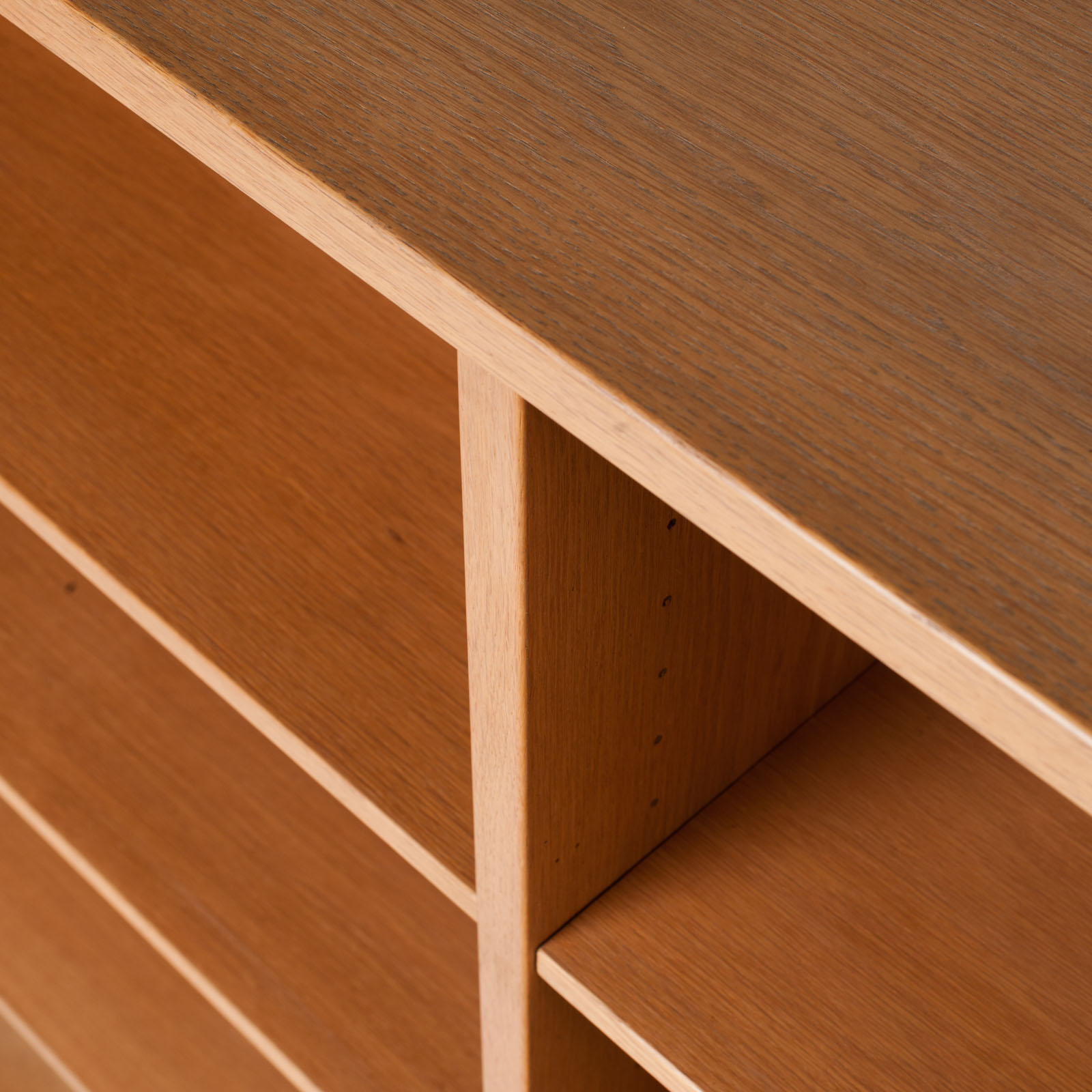 Bookcase By Borge Mogensen In Oak 1960s Denmark 17