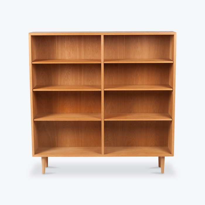 Bookcase By Borge Mogensen In Oak 1960s Denmark Thumb.jpg