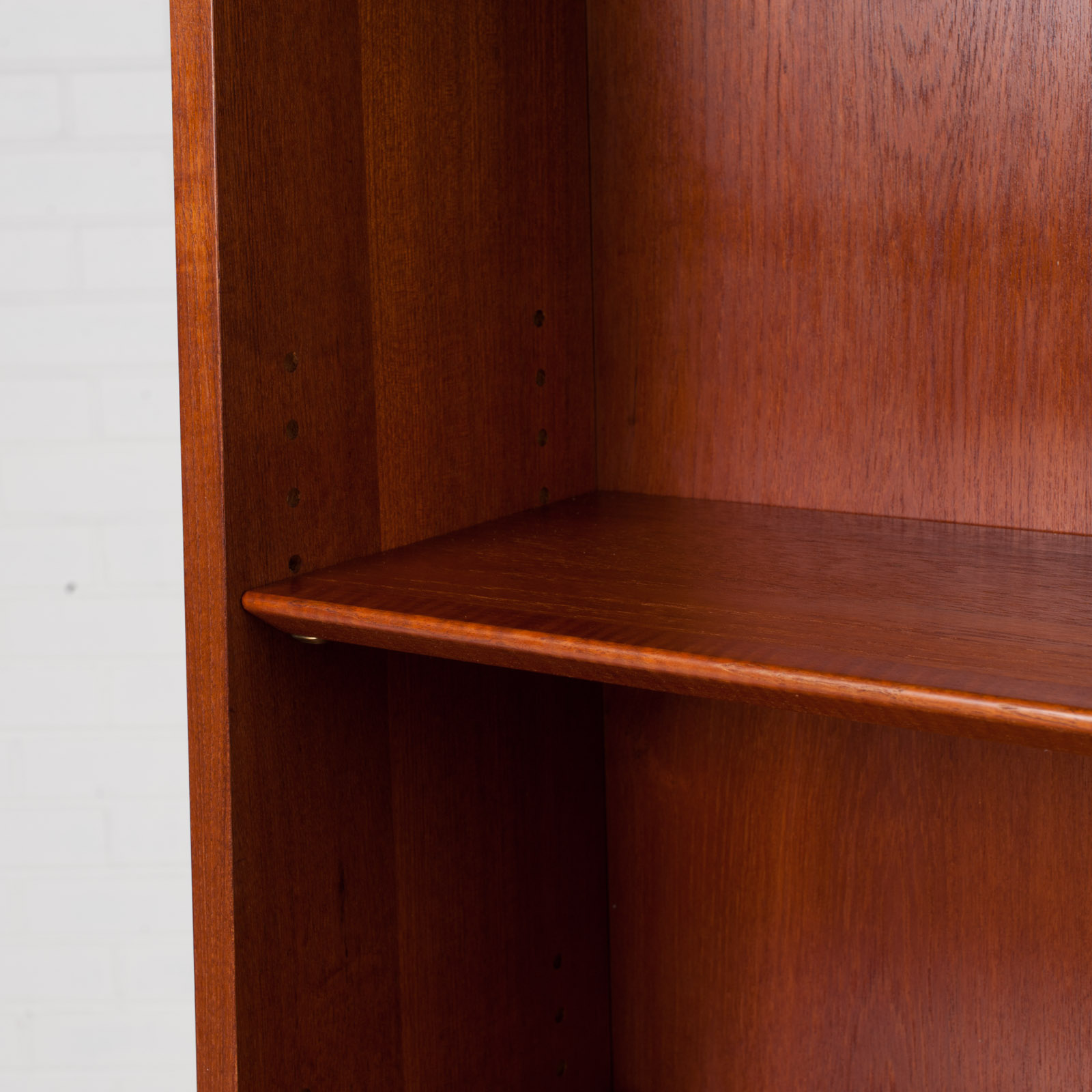 Bookcase With Cabinet And Concealed Desk In Teak 1960s Denmark 07