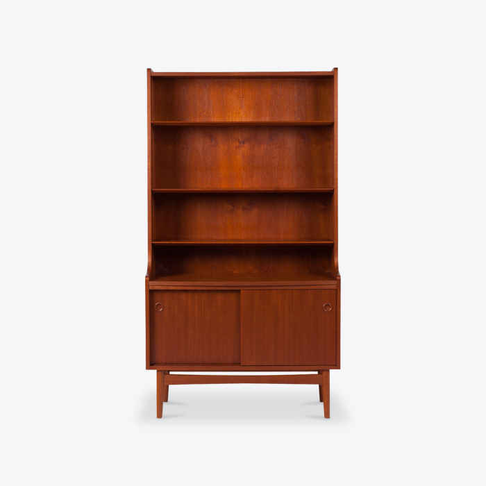 Bookcase With Cabinet In Teak 1960s Denmark Thumb.jpg