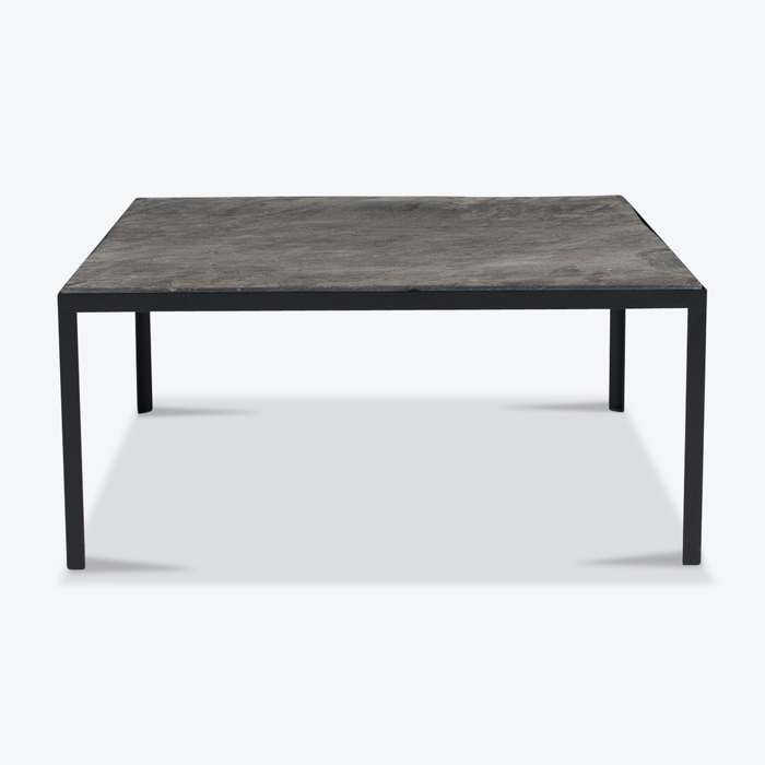 Coffee Table By Floris Fiedeldij In Slate And Steel For Artimeta 1960s Netherlands Thumb.jpg
