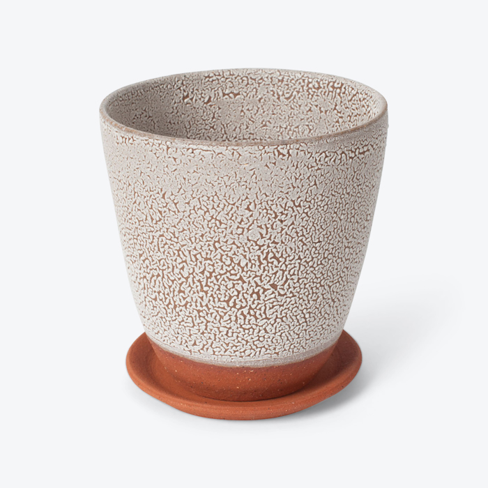 Crawl Planter In Red Terracotta Midfire With White Crawl Glaze By Oh Hey Grace Thumb.jpg