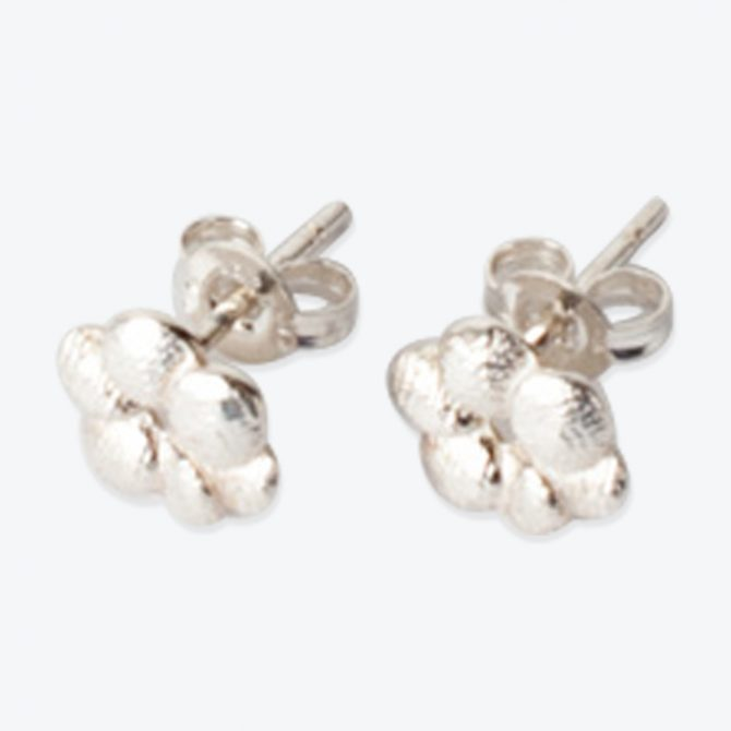 Everyday Bloom Studs In Sterling Silver By Yasmin Hackett Thumb.jpg