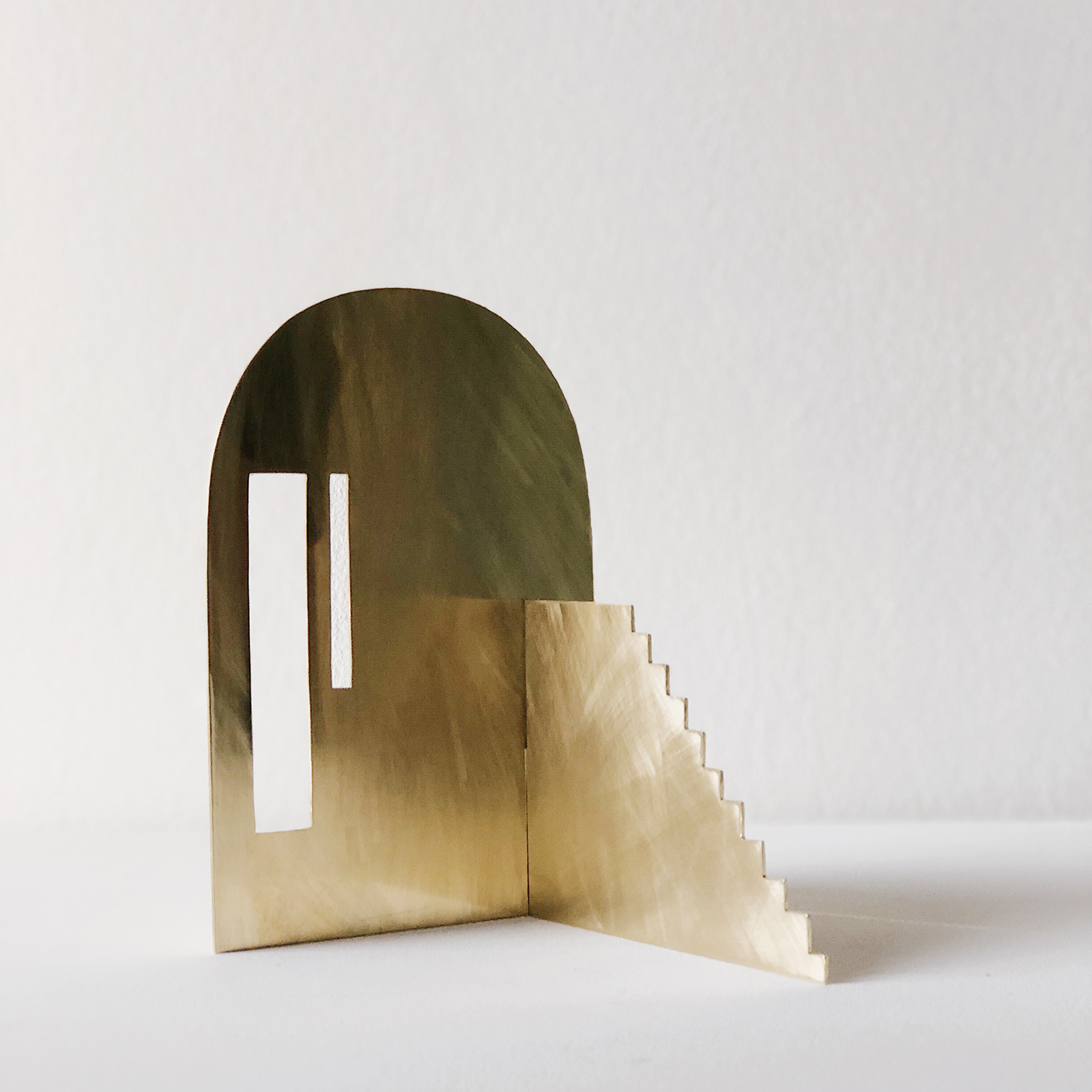 Fragmented Space Sculpture In Brass By Hearth Collective (alichia Van Rhijn) 03