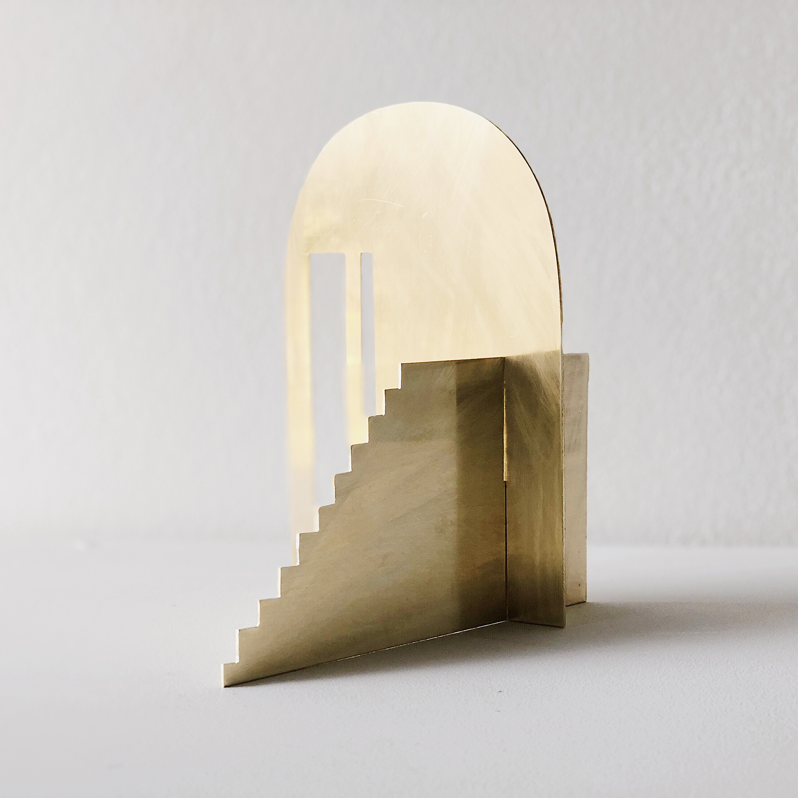 Fragmented Space Sculpture In Brass By Hearth Collective (alichia Van Rhijn) 04