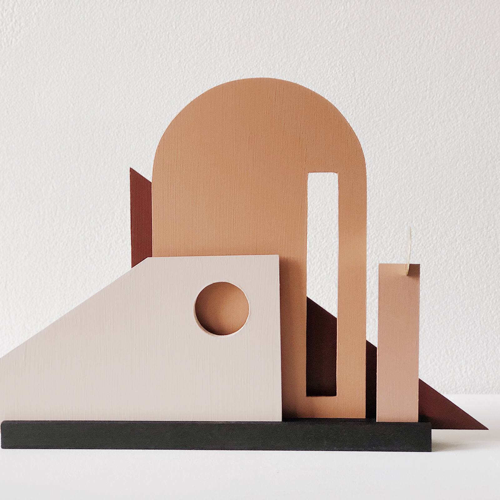 Moving Frames Sculpture In Timber And Brass By Hearth Collective (alichia Van Rhijn) 03