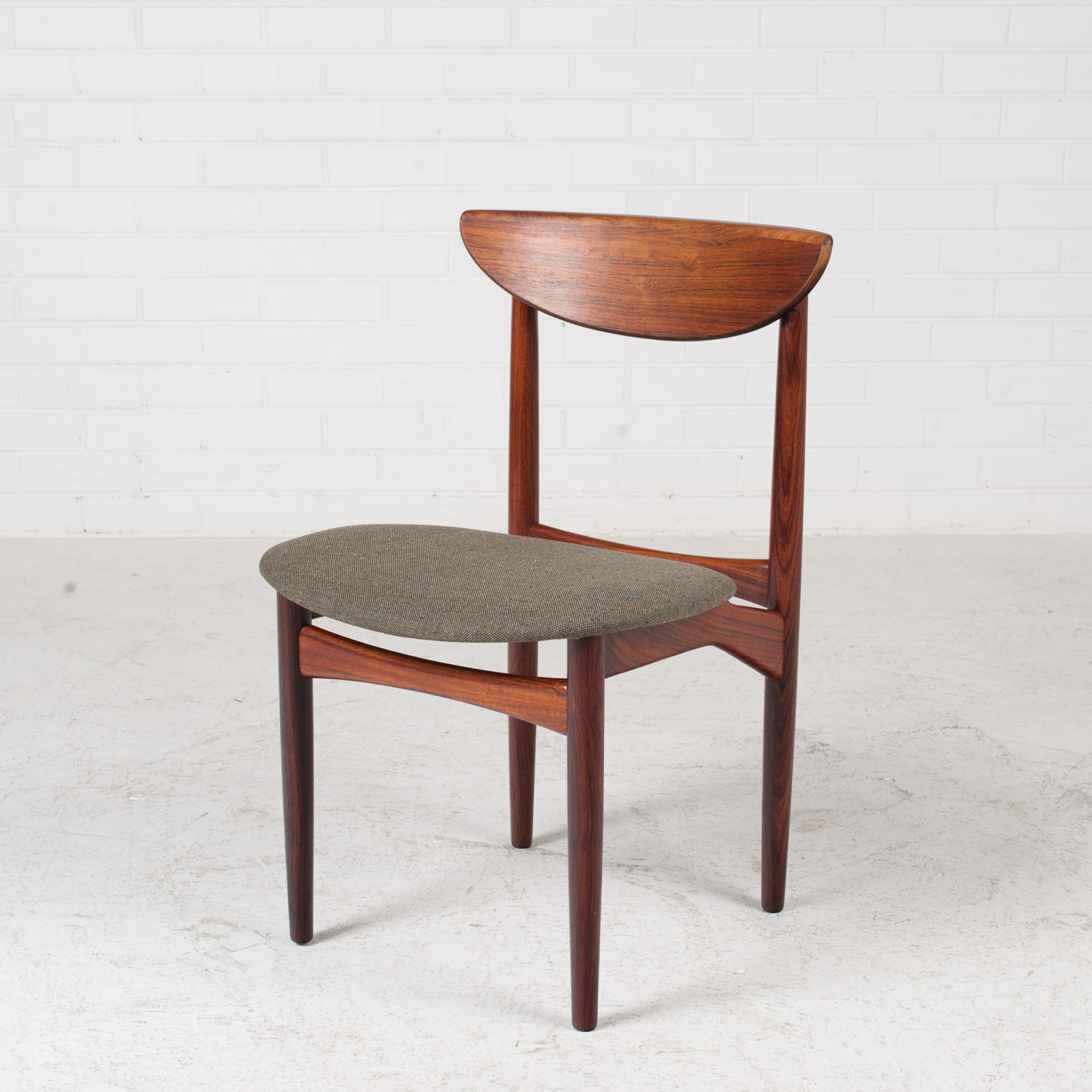 Set Of 4 Dining Chairs By Kurt Ostervig In Rosewood 1960s Denmark 02