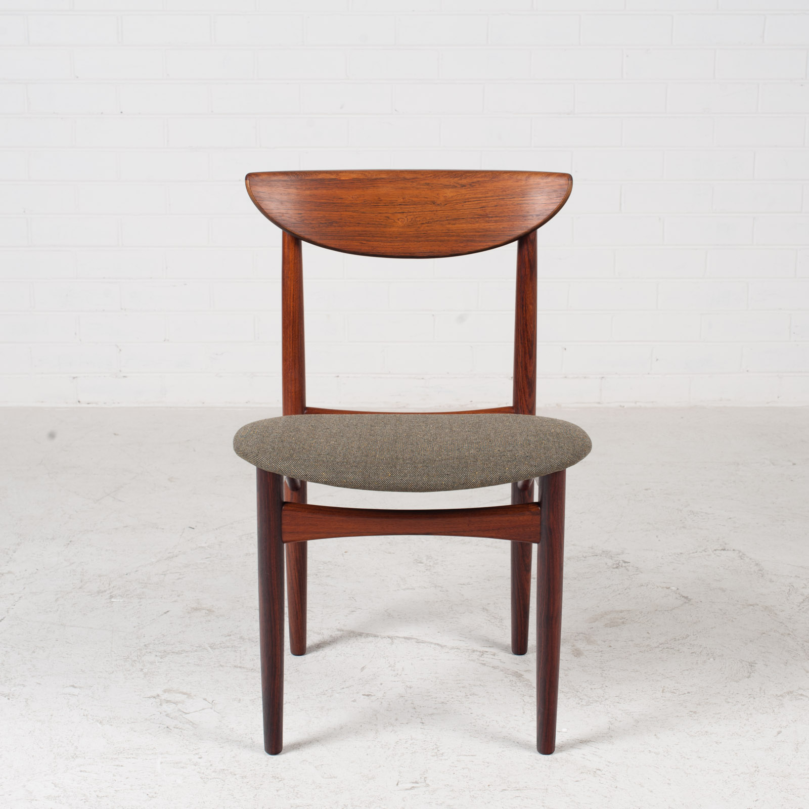 Set Of 4 Dining Chairs By Kurt Ostervig In Rosewood 1960s Denmark 03