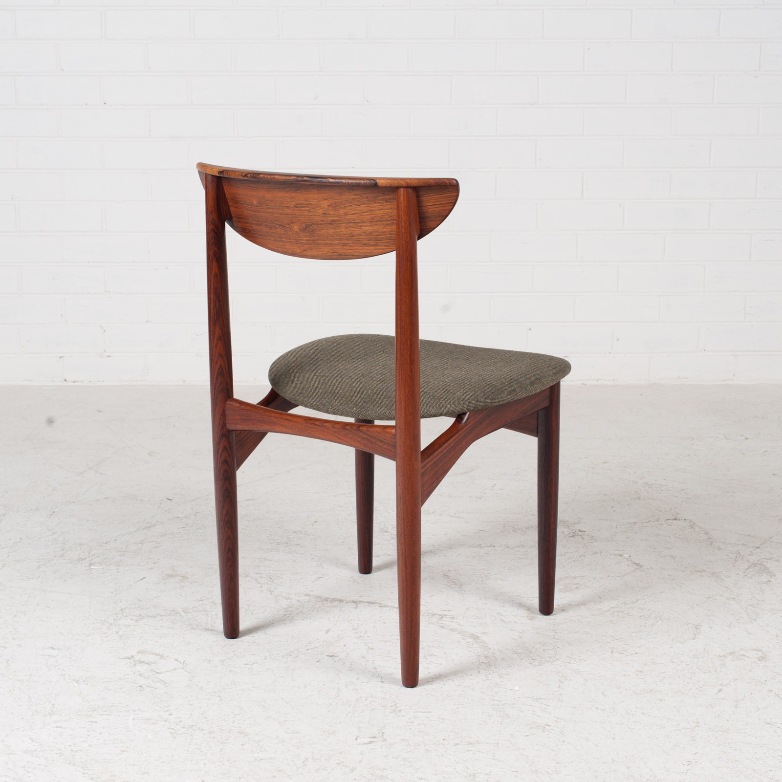Set Of 4 Dining Chairs By Kurt Ostervig In Rosewood 1960s Denmark 10