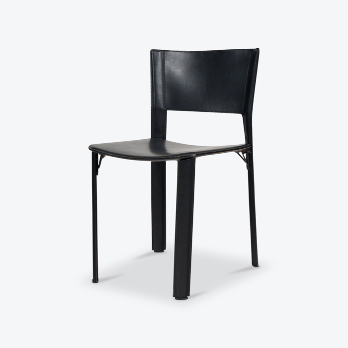 Set Of 4 S 91 Dining Chairs By Gianncarlo Vegni For Fasem 1990s Italy Thumb.jpg