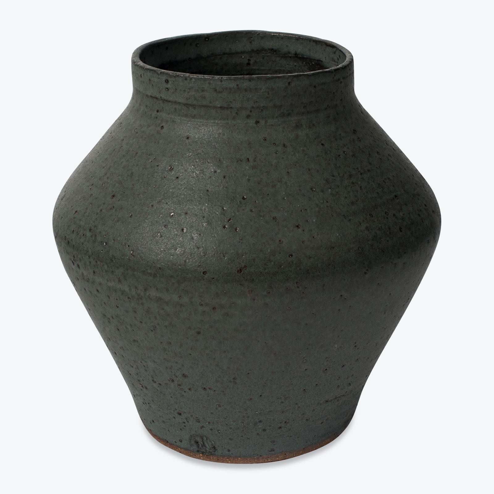 Shibo Vase In Ceramic With Velvet Glaze By Asobimasu Clay 01