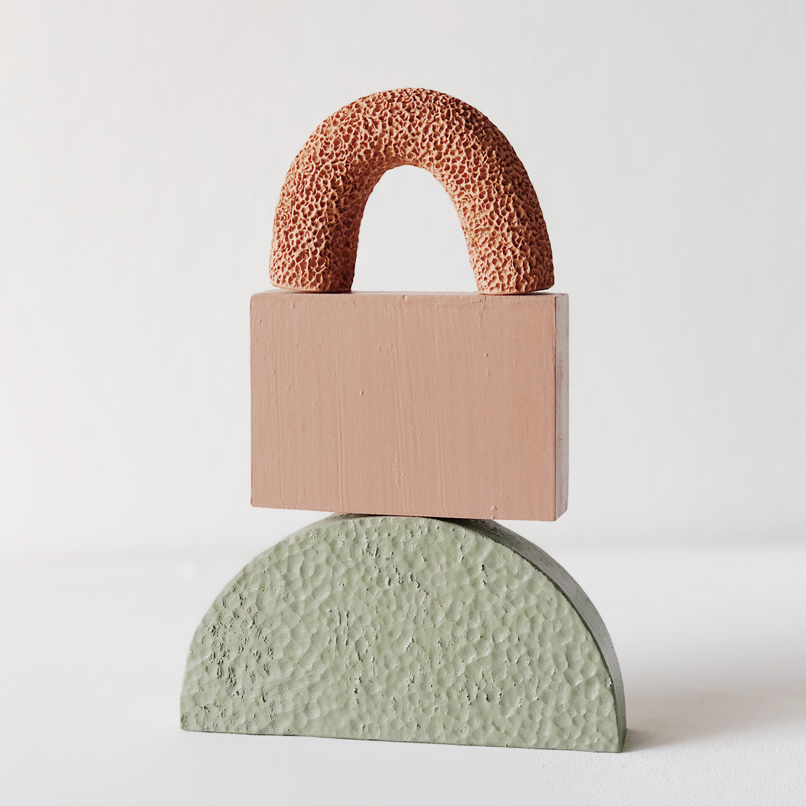 Small Space Sculpture In Terracotta And Timber By Hearth Collective (alichia Van Rhijn) 03