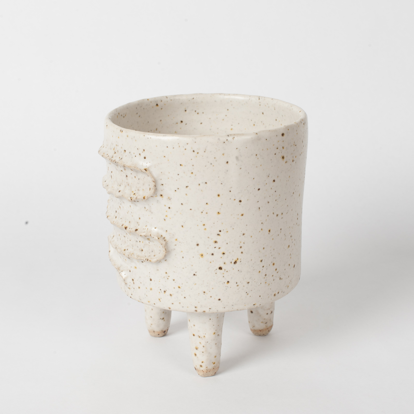 Snake Planter In Stoneware By Peta Armstrong 02