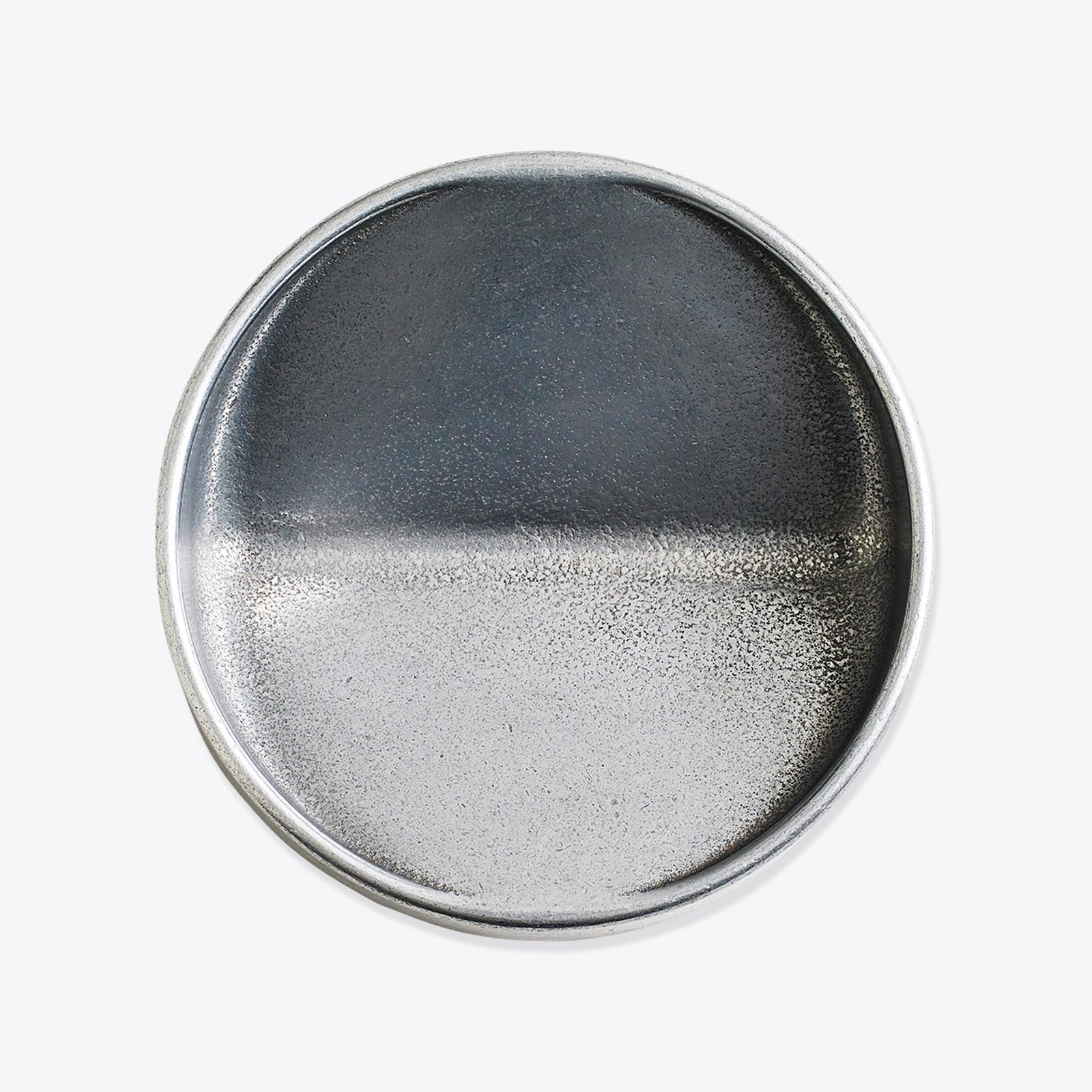 Vide Poche Rond In Polished Aluminium By Henry Wilson Thumb 01