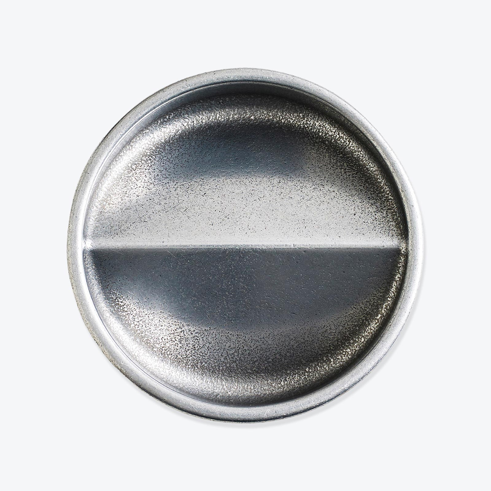 Vide Poche Rond In Polished Aluminium By Henry Wilson Thumb 02