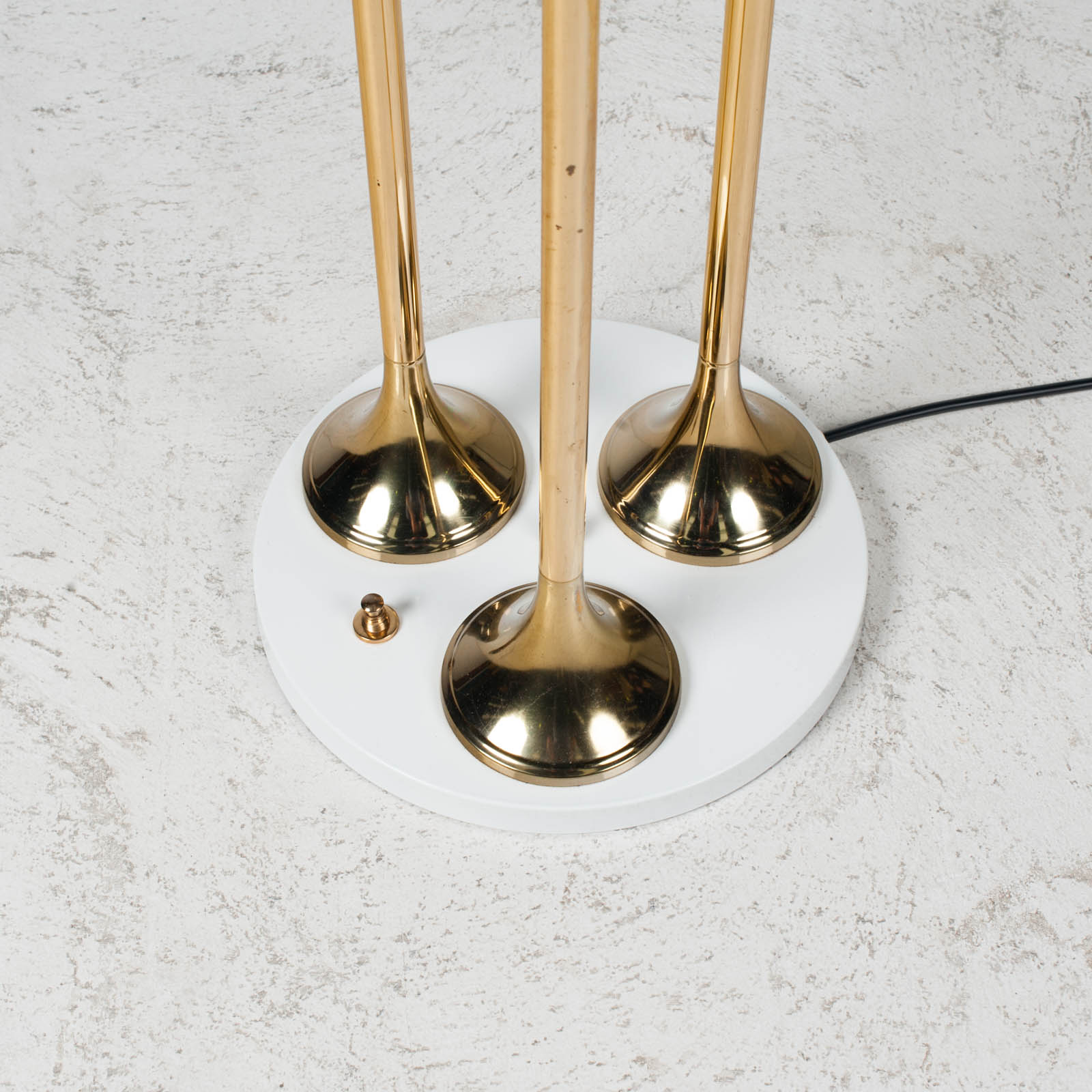 Brass Floor Lamp By Targetti Sankey 1960s Italy 03