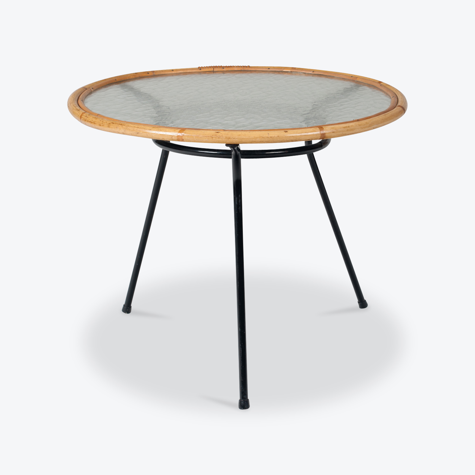 Circular Side Table By Rohe Noordwolde 1960s Netherlands 01