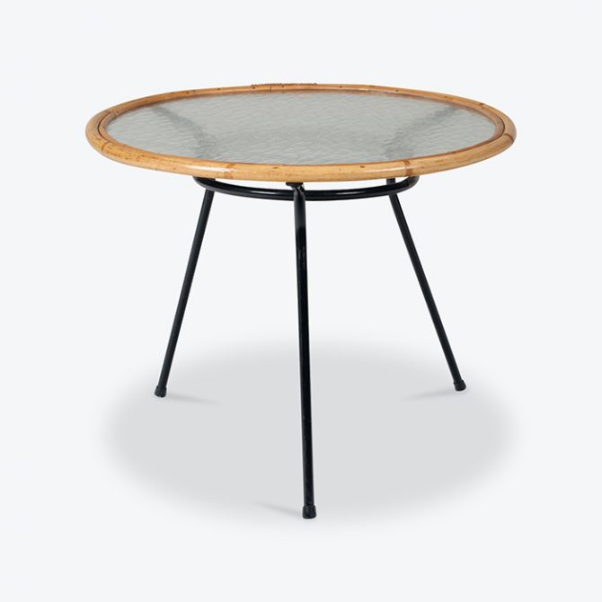 Circular Side Table By Rohe Noordwolde 1960s Netherlands Thumb.jpg