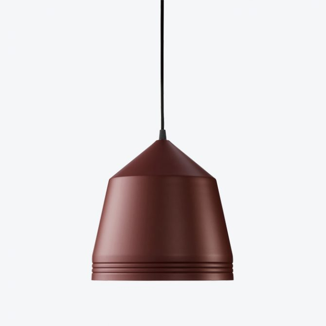 Cooper Pendant By Coco Flip In Burgandy Wine Powder Coated Aluminium 2018 Australia Thumb.jpg