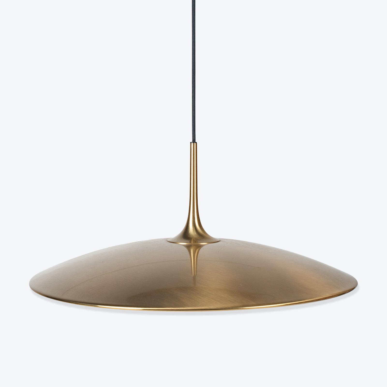 Onos 55 Counterbalance Pendant By Florian Schulz In Brass 1970s Germany 01