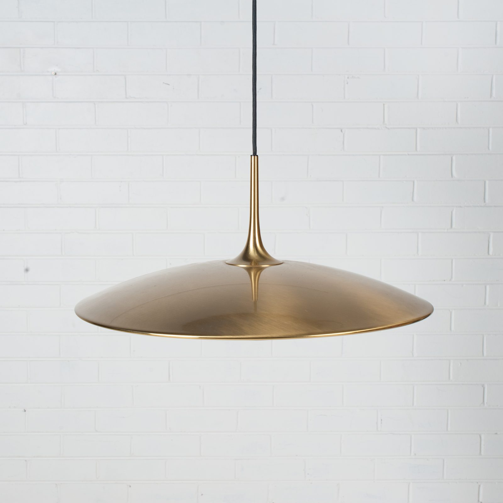Onos 55 Counterbalance Pendant By Florian Schulz In Brass 1970s Germany 02