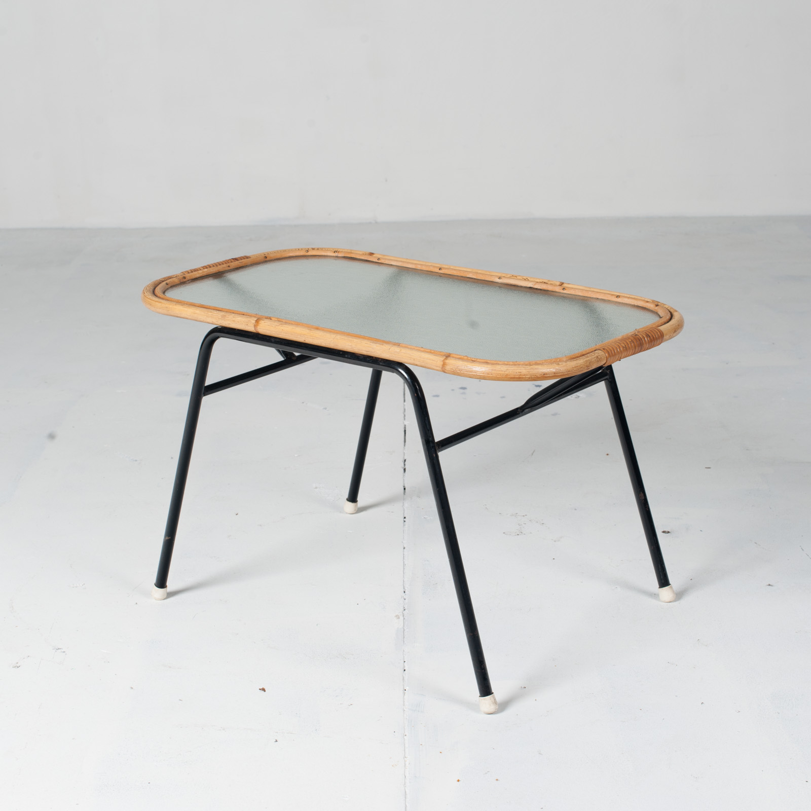 Rectangular Coffee Table By Rohe Noordwolde 1950s Netherlands 02