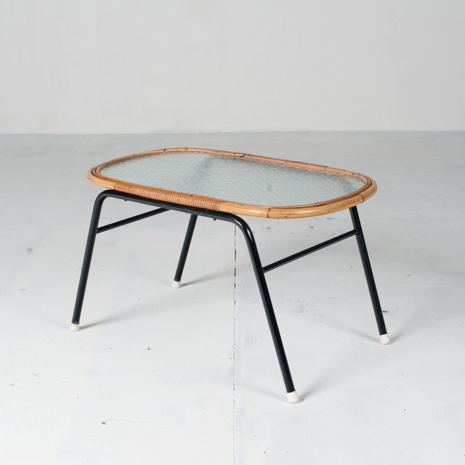Rectangular Coffee Table By Rohe Noordwolde 1960s Netherlands 02