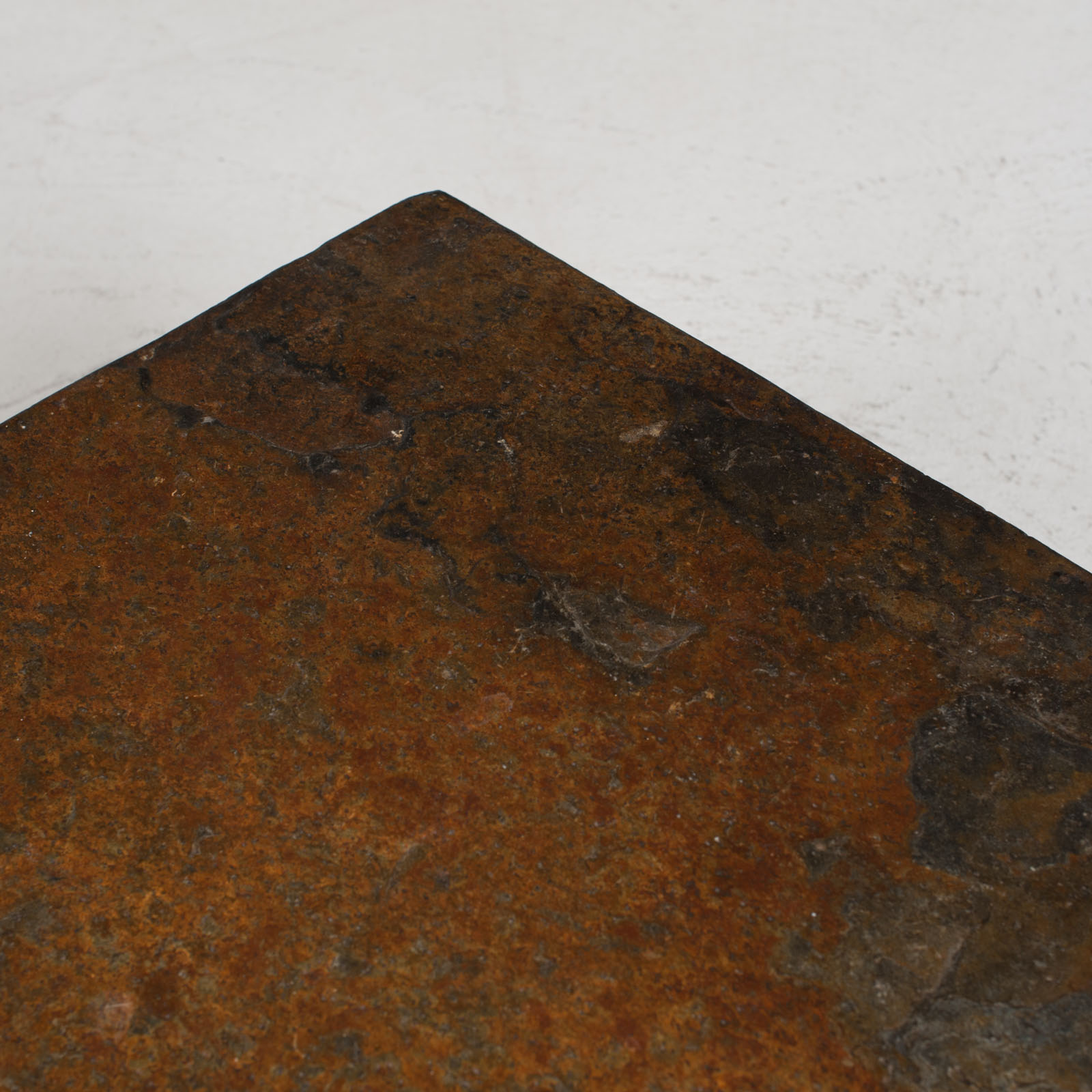 Rectangular Coffee Table With Slate And Chrome Base 1960s Netherlands 05