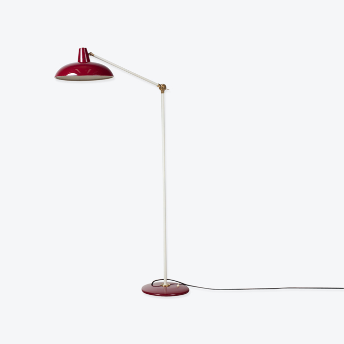 Red Floor Lamp By Jan Hoogervorst For Anvia Almelo 1960s Netherlands Thumb.jpg