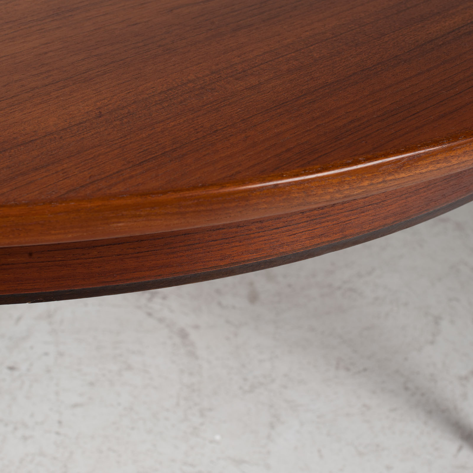 Round Dining Table By Omann Jun In Teak With Three Extensions 1960s Denmark 07