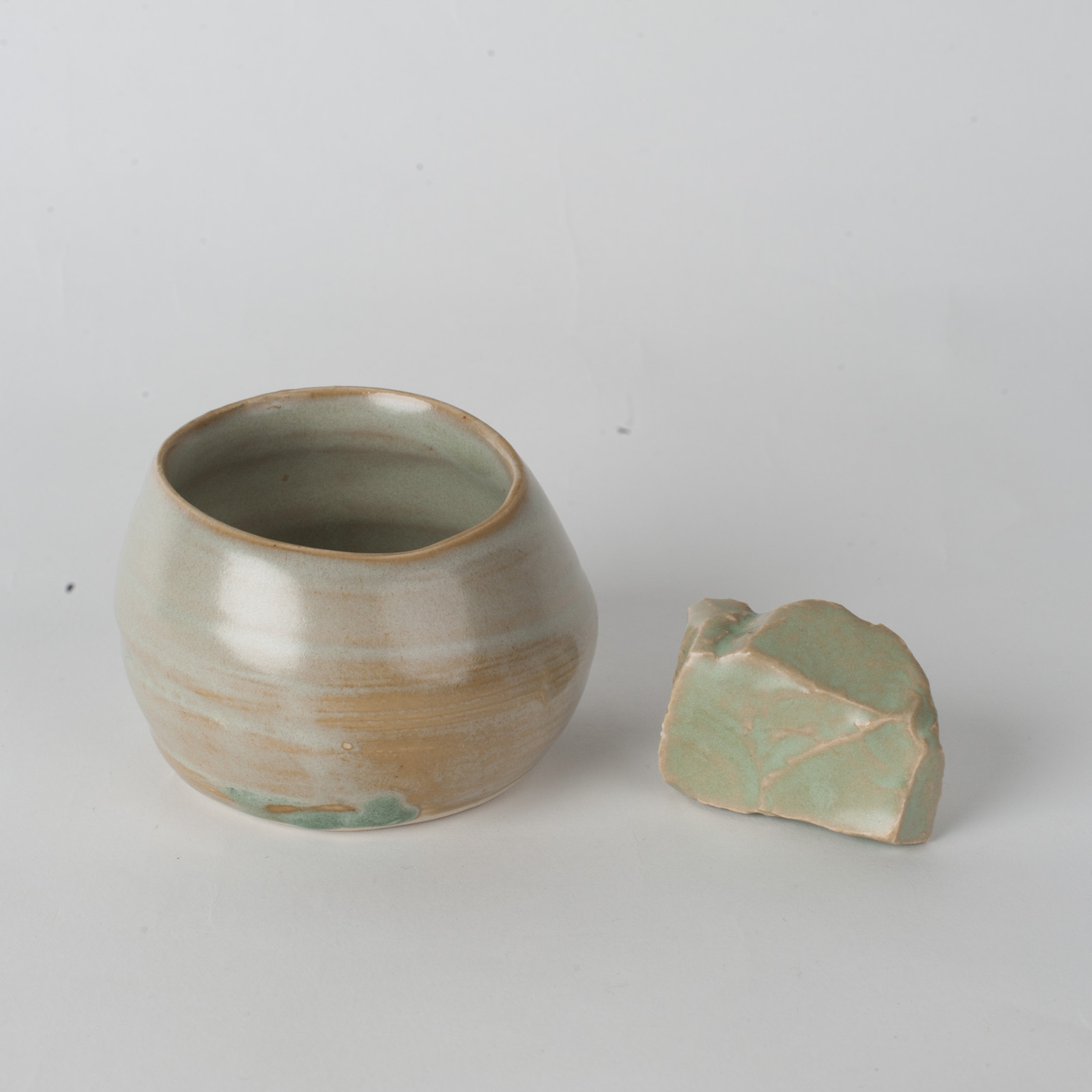 Whiskey Cup In Green Ceramic By James Lemon 02