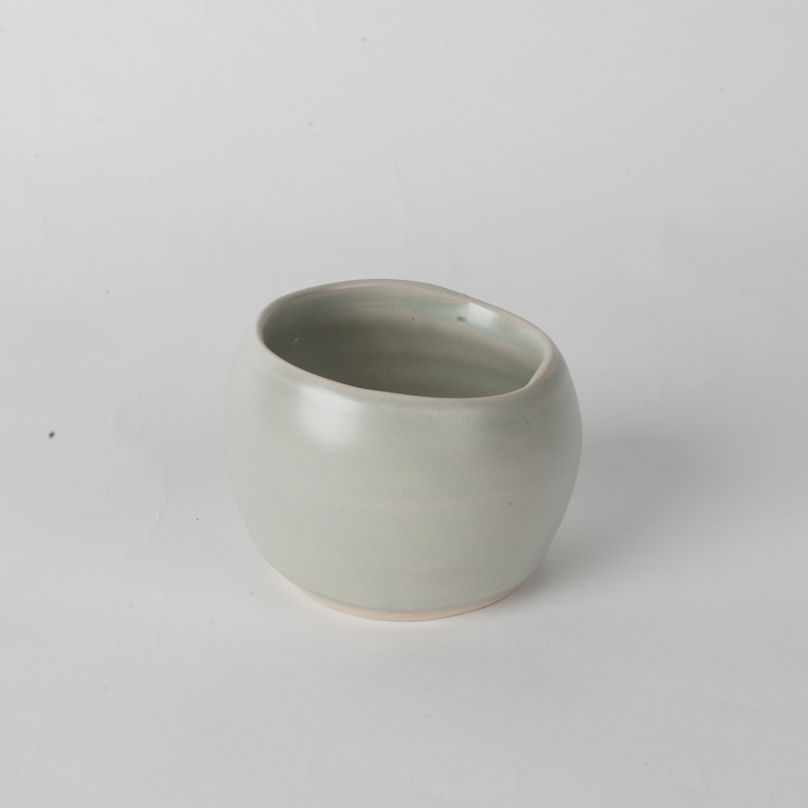 Whiskey Cup In Stone Ceramic By James Lemon 02