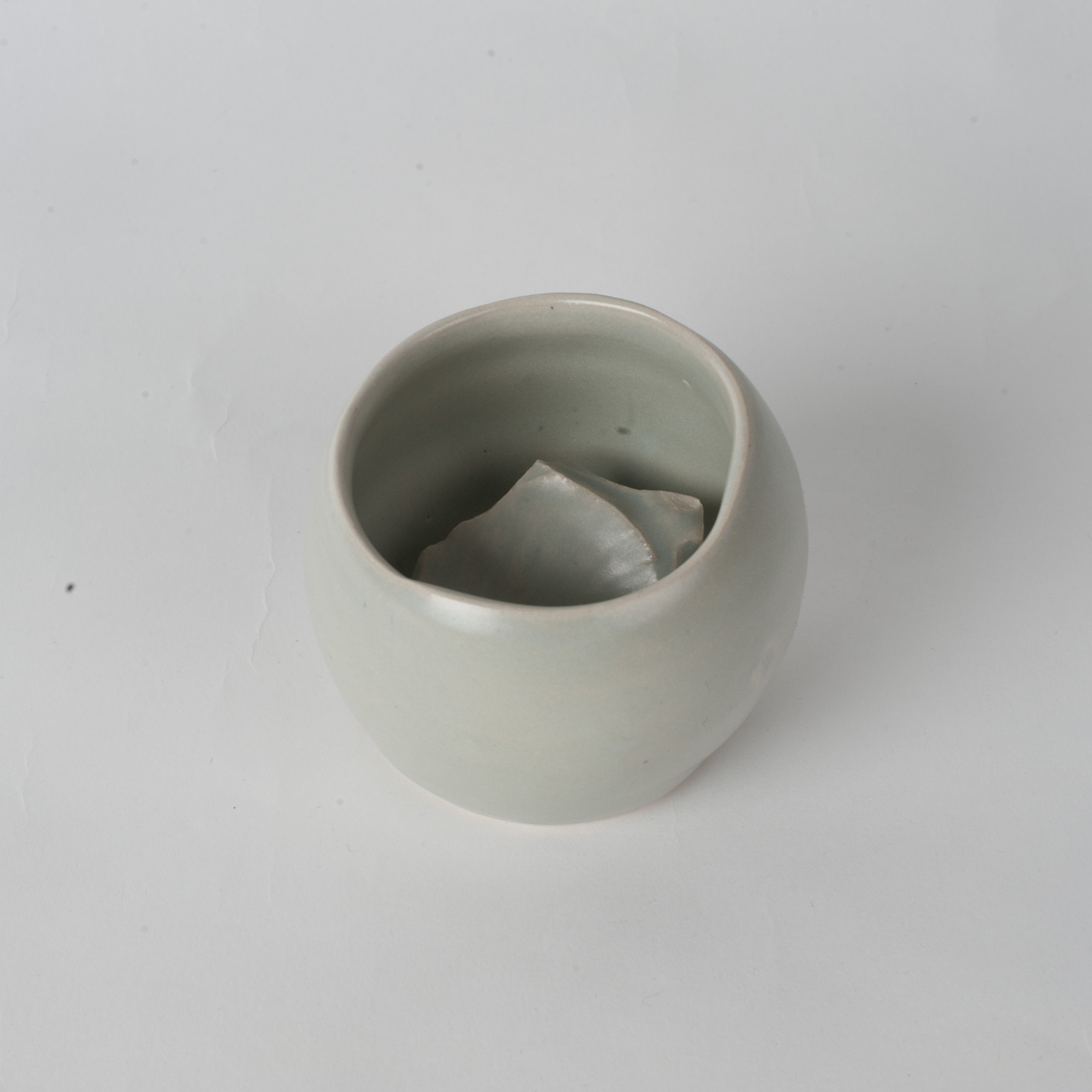 Whiskey Cup In Stone Ceramic By James Lemon 04