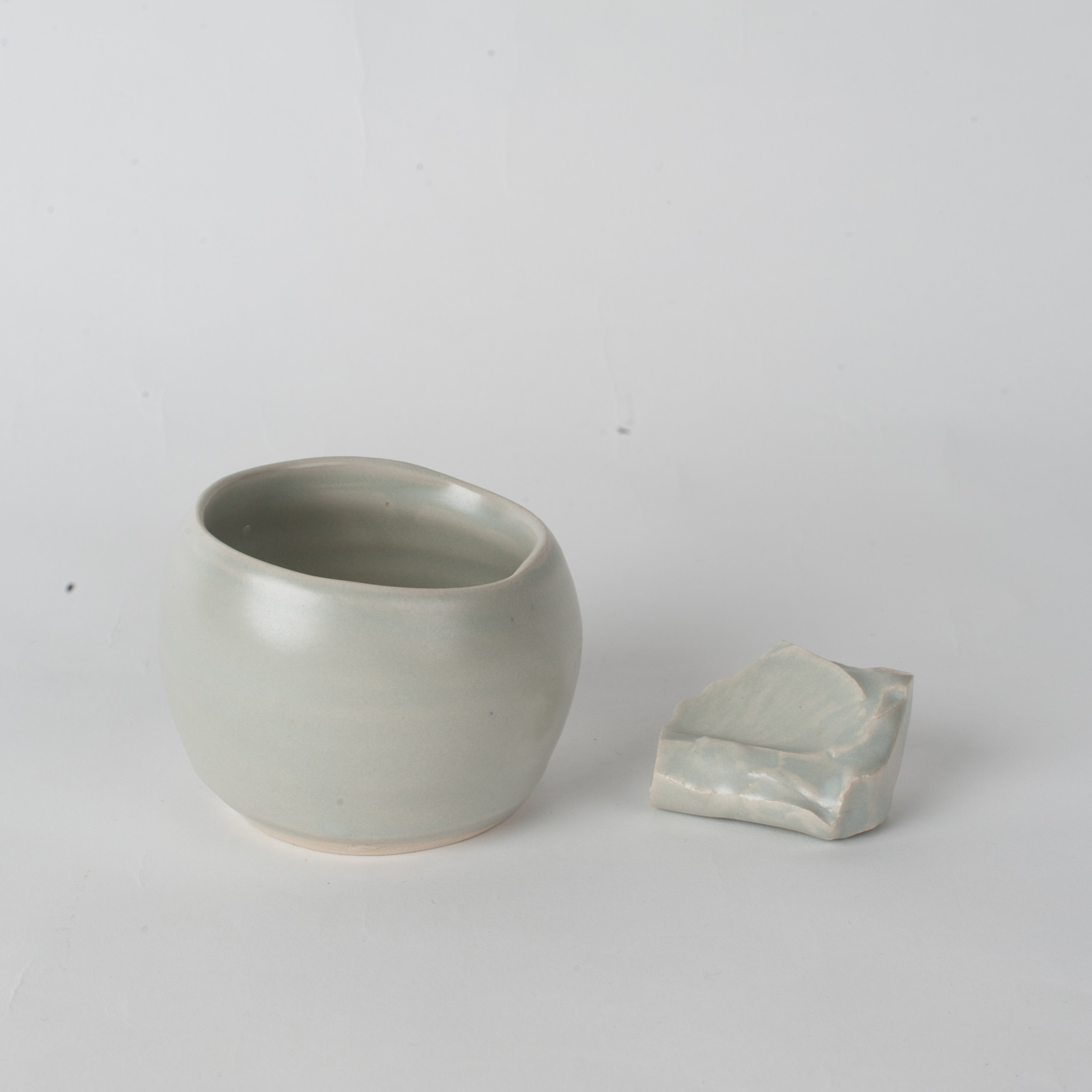 Whiskey Cup In Stone Ceramic By James Lemon 06