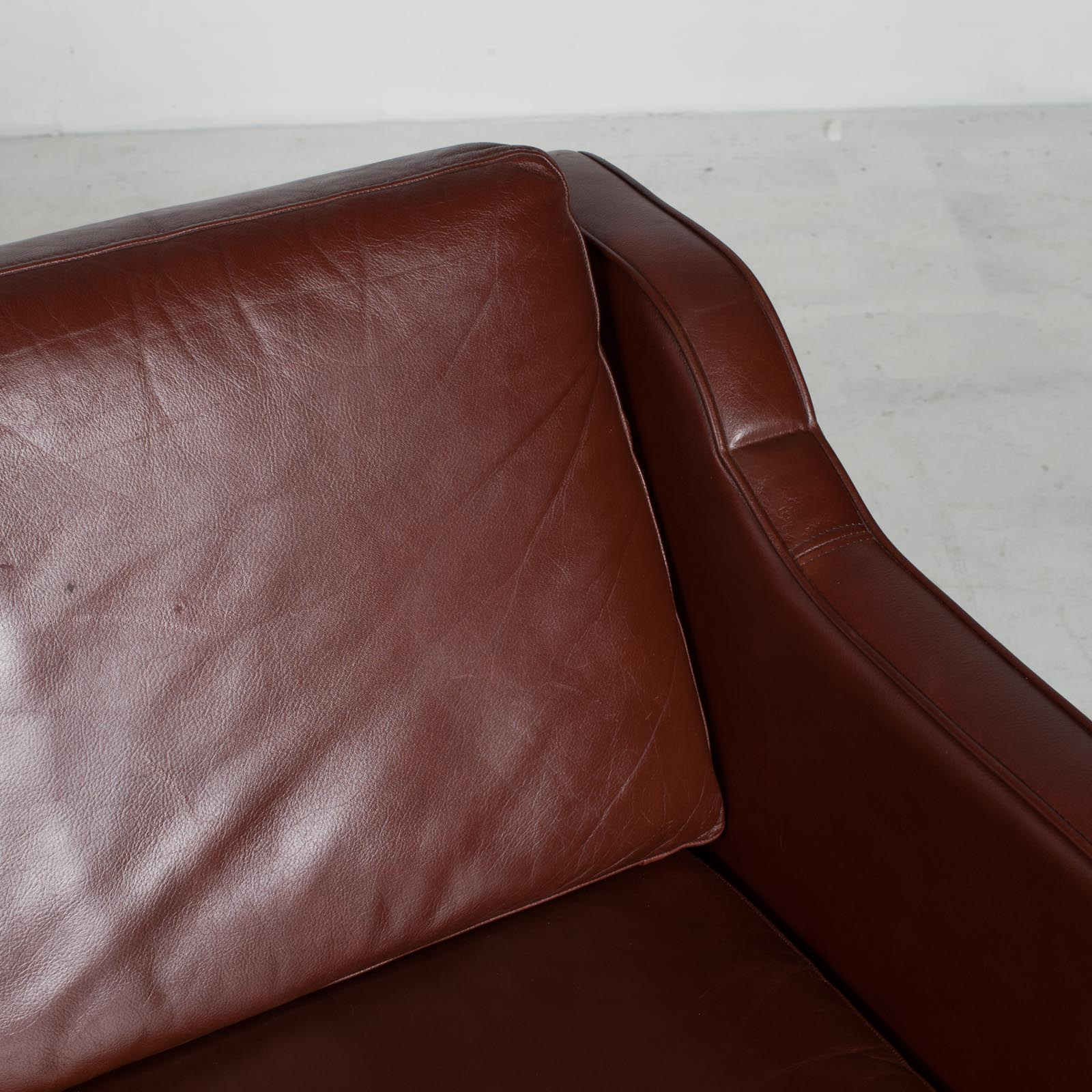 3 Seater Sofa In Tan Leather 1960s Denmark12