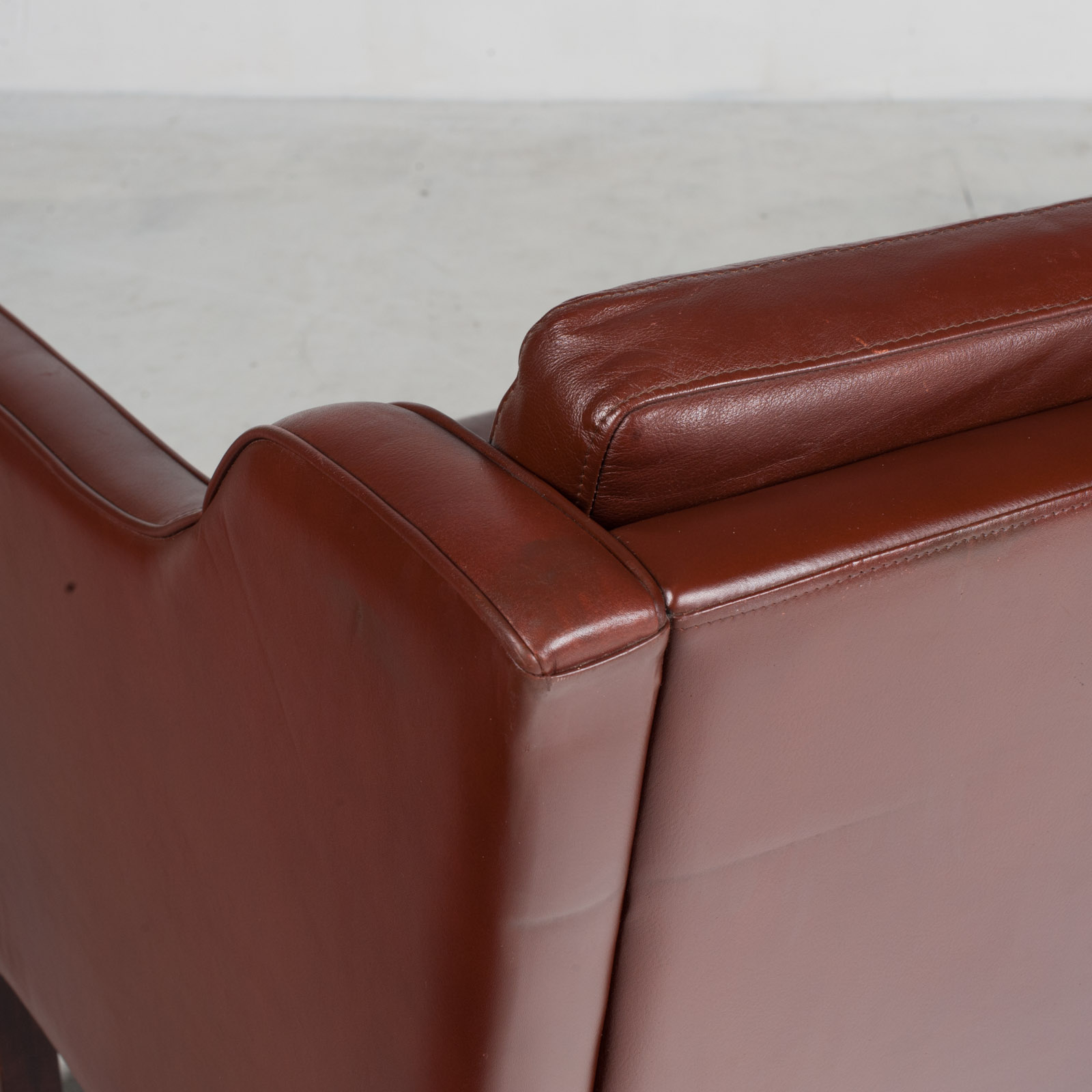 3 Seater Sofa In Tan Leather 1960s Denmark17