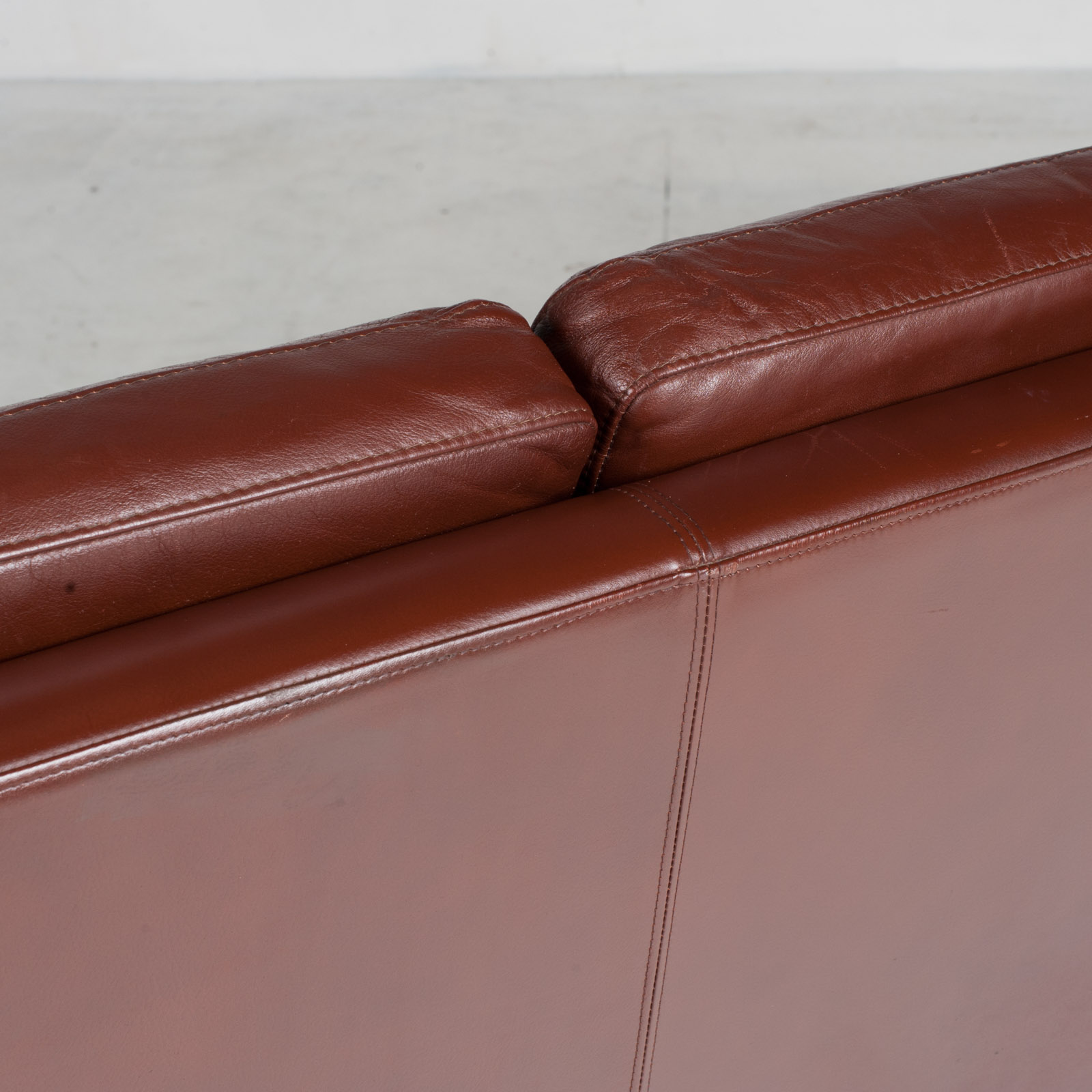 3 Seater Sofa In Tan Leather 1960s Denmark18