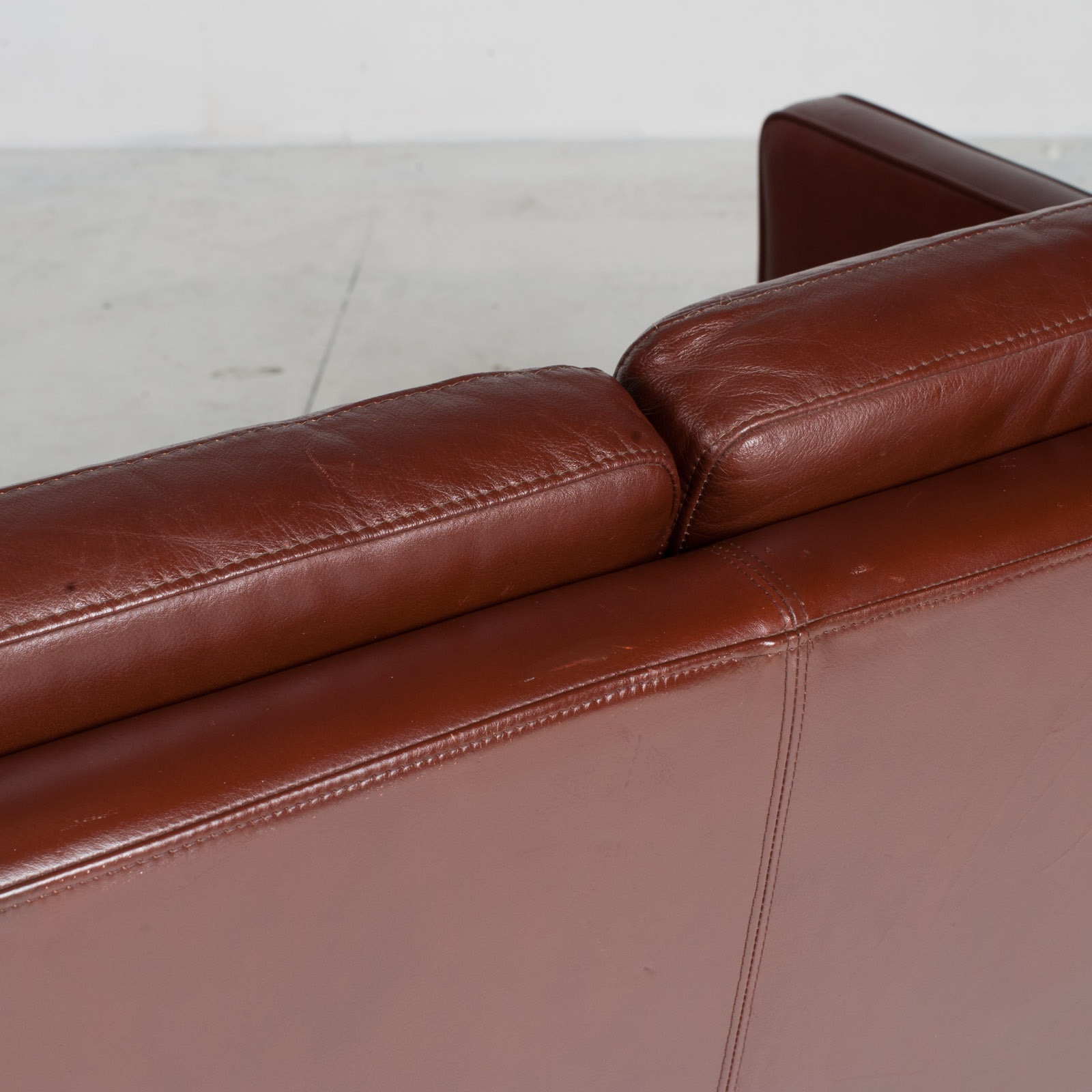 3 Seater Sofa In Tan Leather 1960s Denmark19