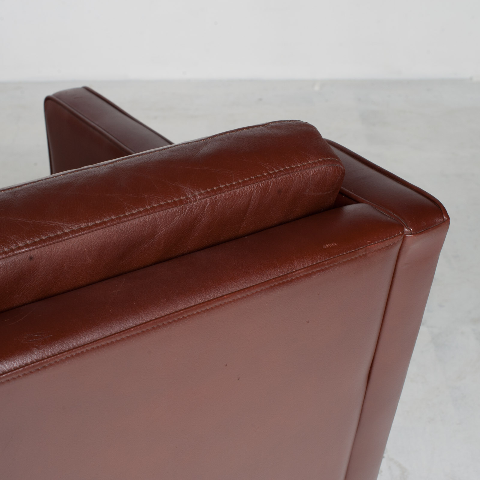 3 Seater Sofa In Tan Leather 1960s Denmark20