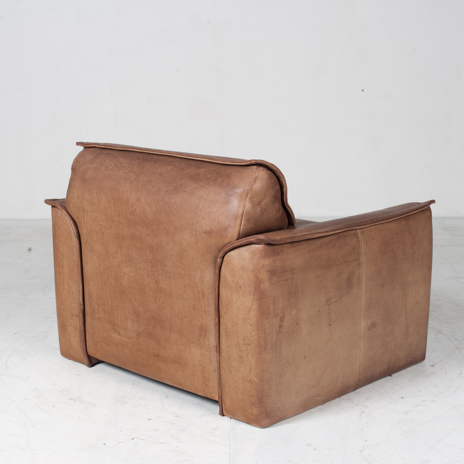 Armchairs By De Sede In Tan Neck Leather 1960s Denmark 09