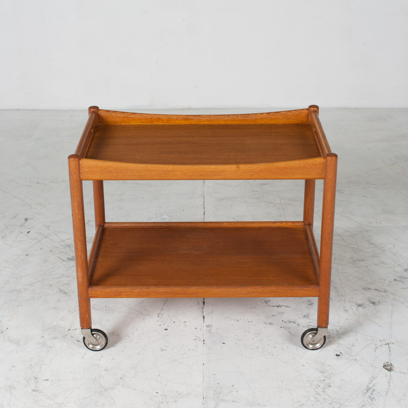 Drinks Cart By Hans J. Wegner In Oak 1960s Denmark 02