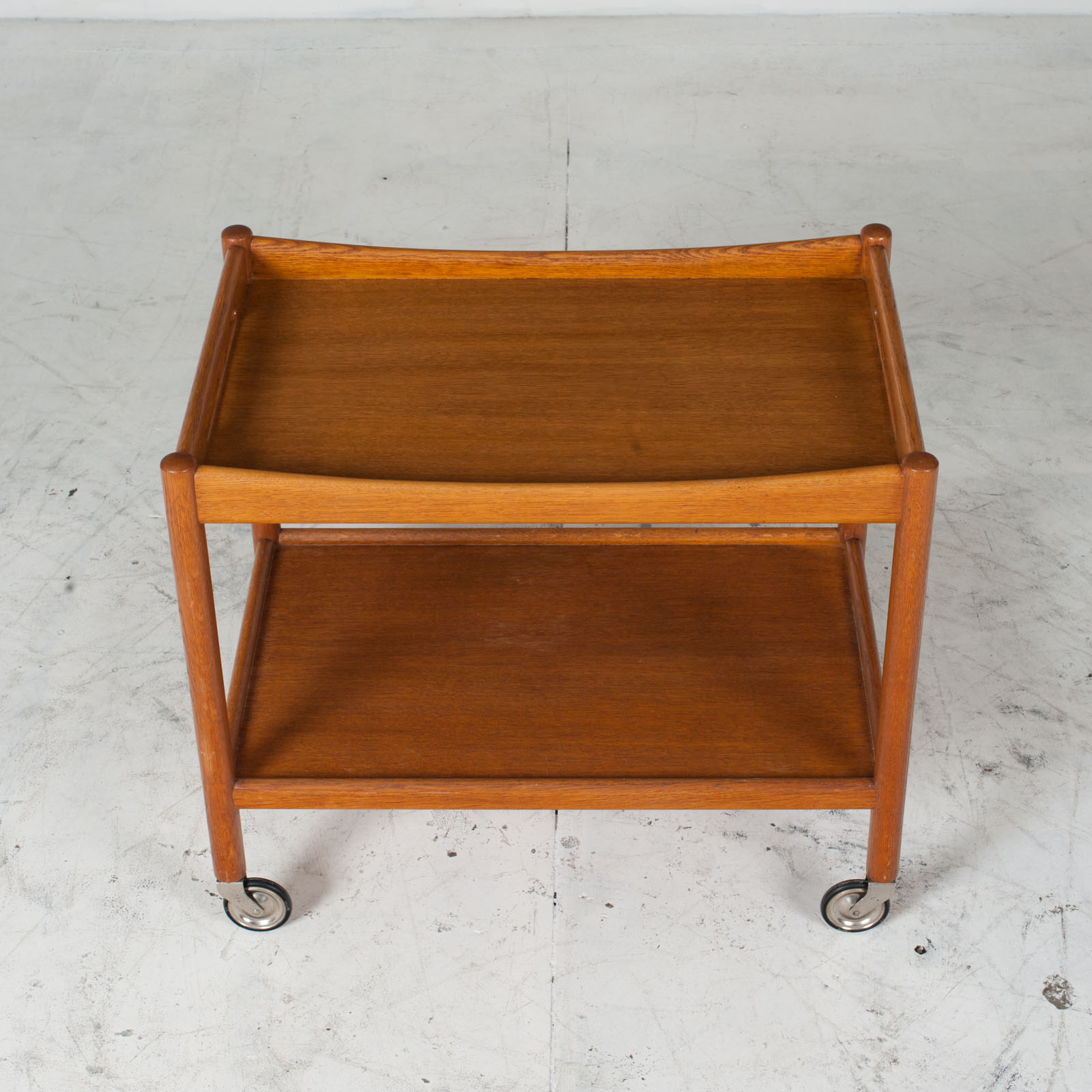 Drinks Cart By Hans J. Wegner In Oak 1960s Denmark 03