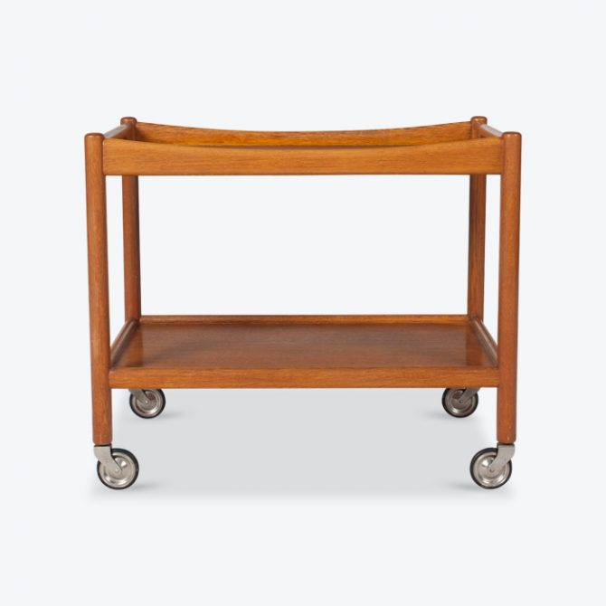 Drinks Cart By Hans J. Wegner In Oak 1960s Denmark Thumb.jpg