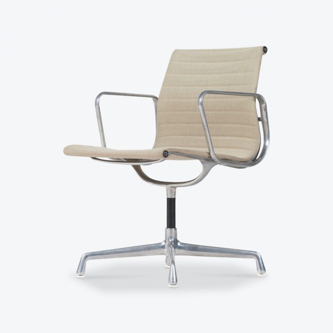 Eames Ea 108 Chair By Charles & Ray Eames For Vitra 1950s America Thumb