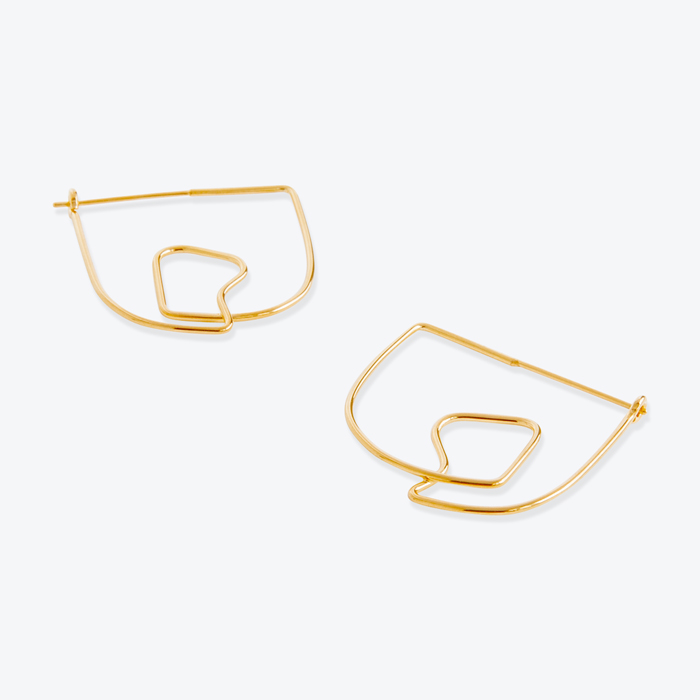 Earrings No 23 In Gold By Two Hills Thumb.jpg