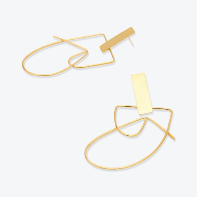Earrings No 9 In Gold By Two Hills Thumb.jpg